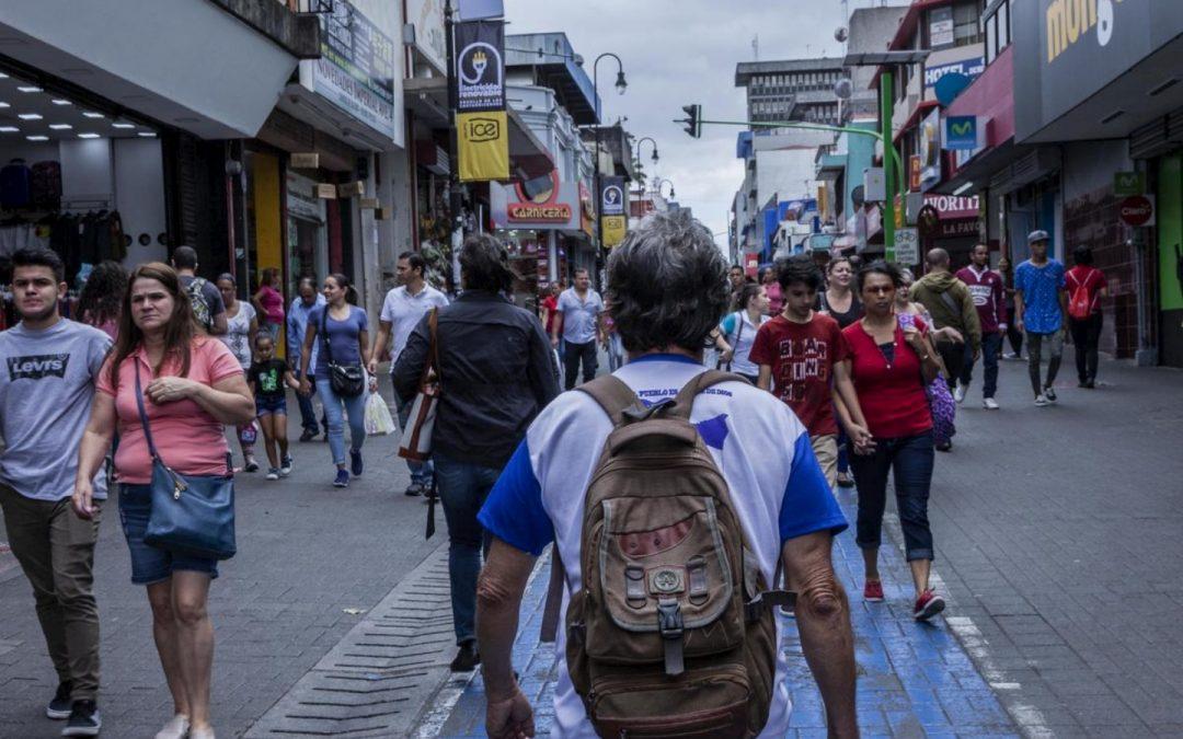 Andrés, solicitante de asilo nicaragüense en Costa Rica