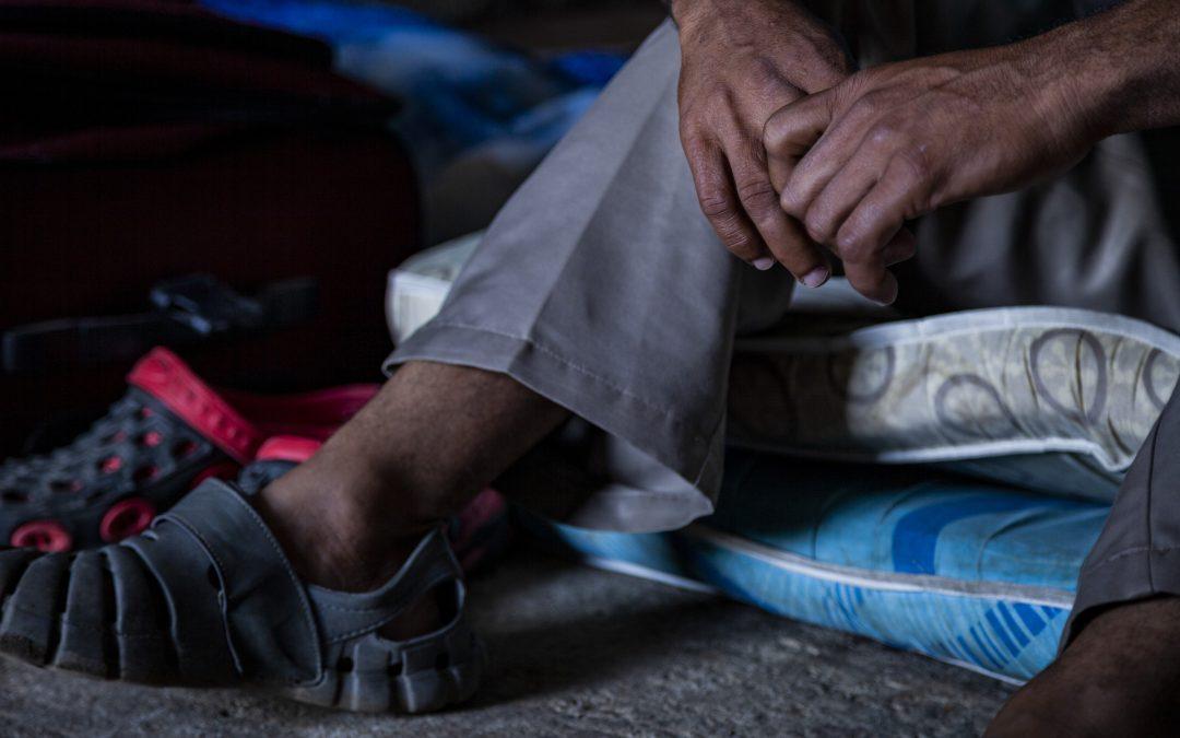 Ernesto, solicitante de asilo nicaragüense en Costa Rica