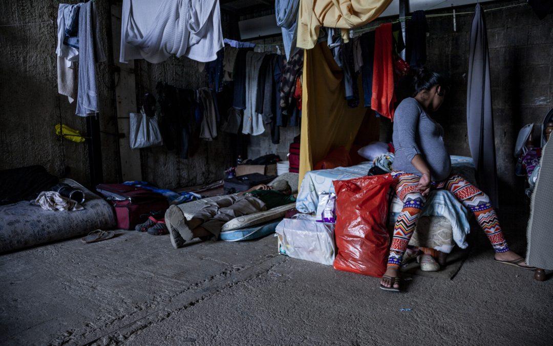 Gina, solicitante de asilo nicaragüense en Costa Rica