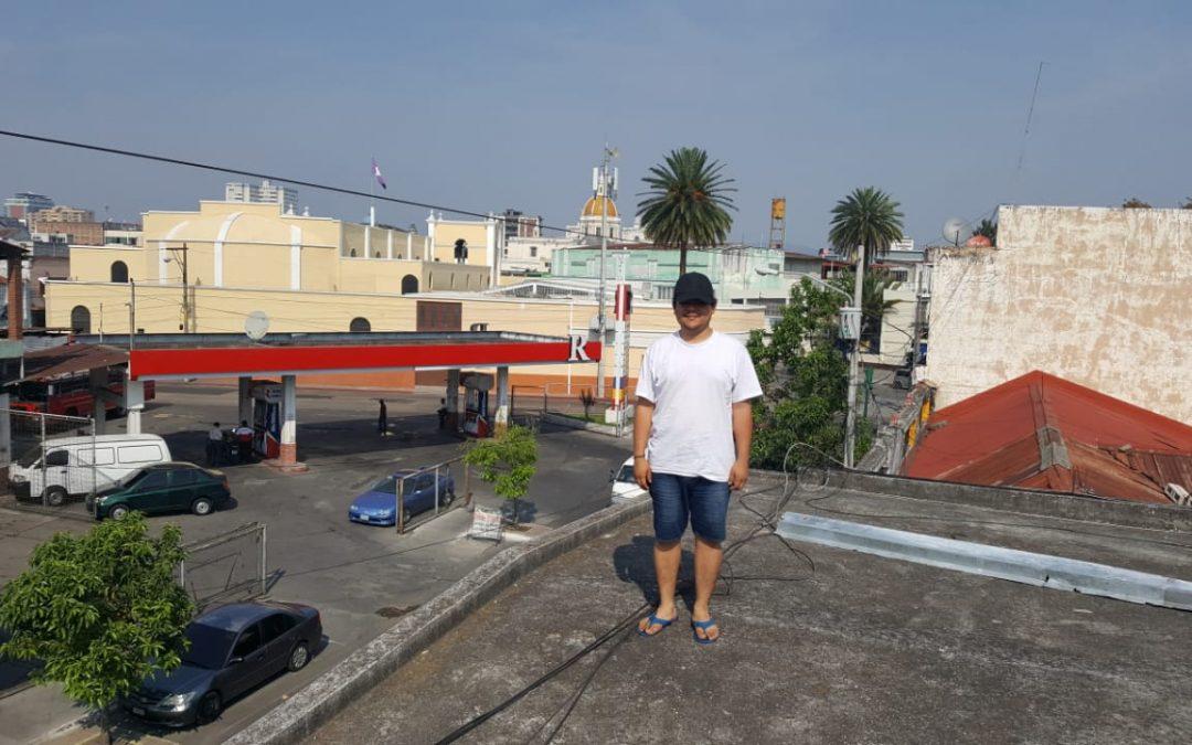 Javier, solicitante de asilo en Guatemala