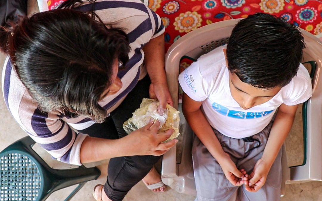 Lisseth, solicitante de asilo de Nicaragua