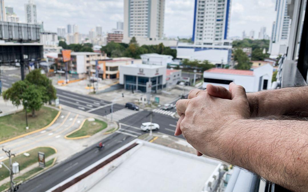 Ricardo, refugiado colombiano en Panamá