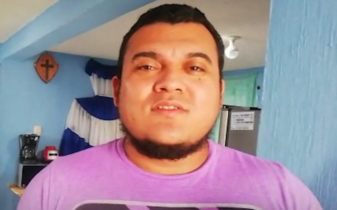 Vladimir, solicitante de asilo en Guatemala
