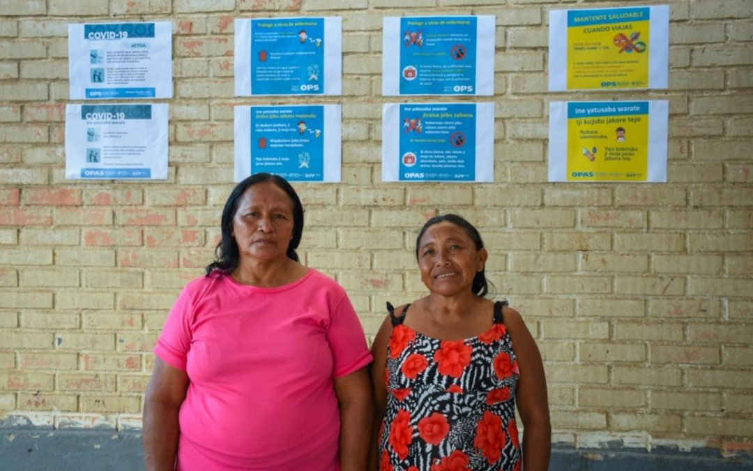 Desplazadas warao en Brasil
