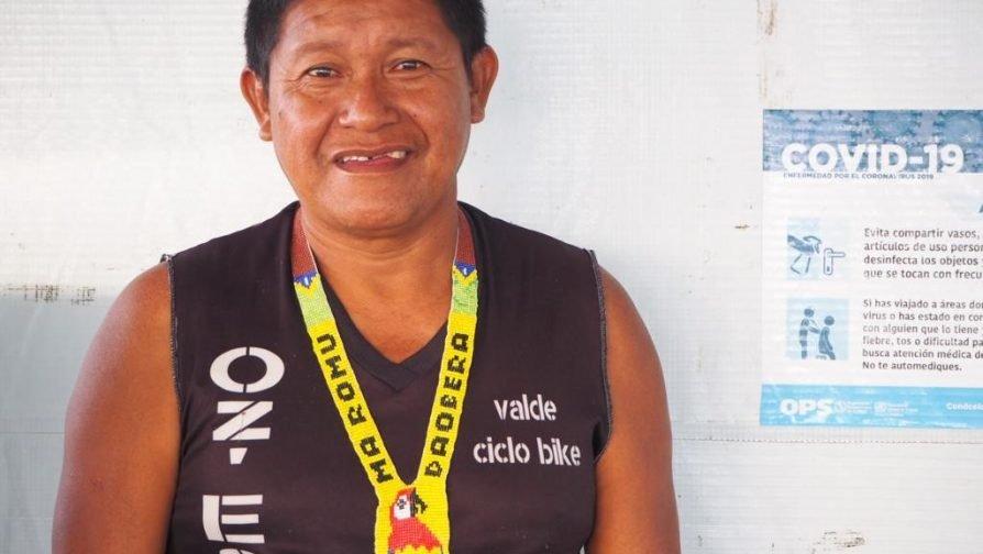 Isdro Pacheco, líder indígena en Pacaraima