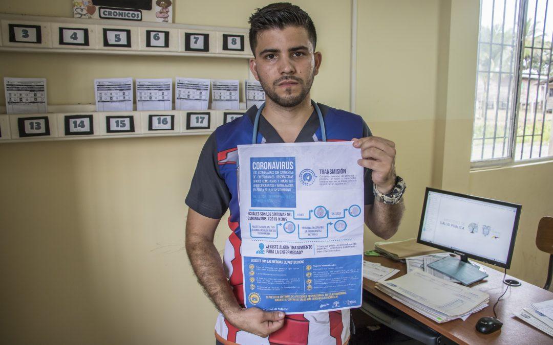 Samuel, médico venezolano en Ecuador