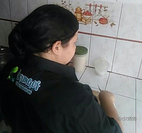Yésica, enfermera venezolana en Ecuador