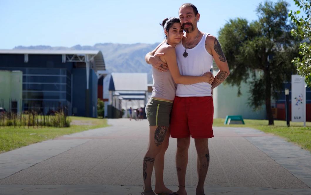 Lana y Majd, refugiados sirios en San Luis